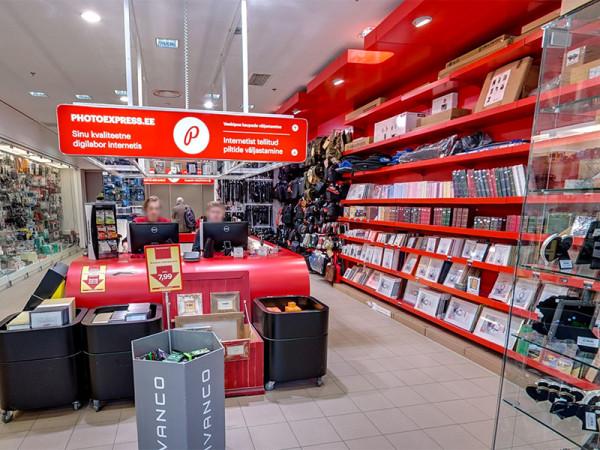 Photopointi kauplus Kristiine keskuses
