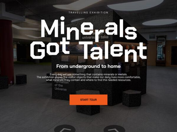 """Rändnäitus """"Minerals Got Talent"""""""